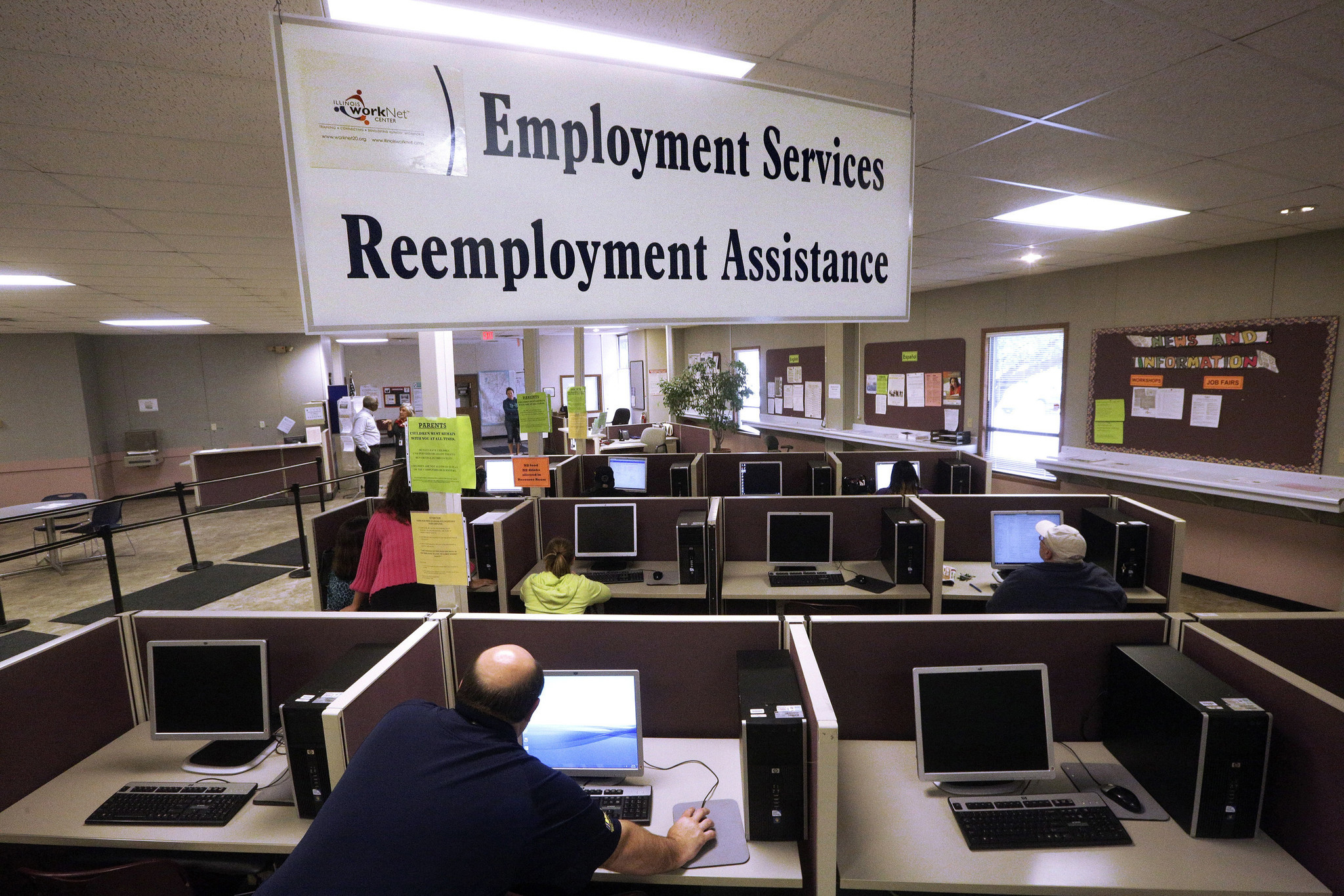 Illinois Unemployment Rate Holds Steady At 5.5 Percent In September    Chicago Tribune
