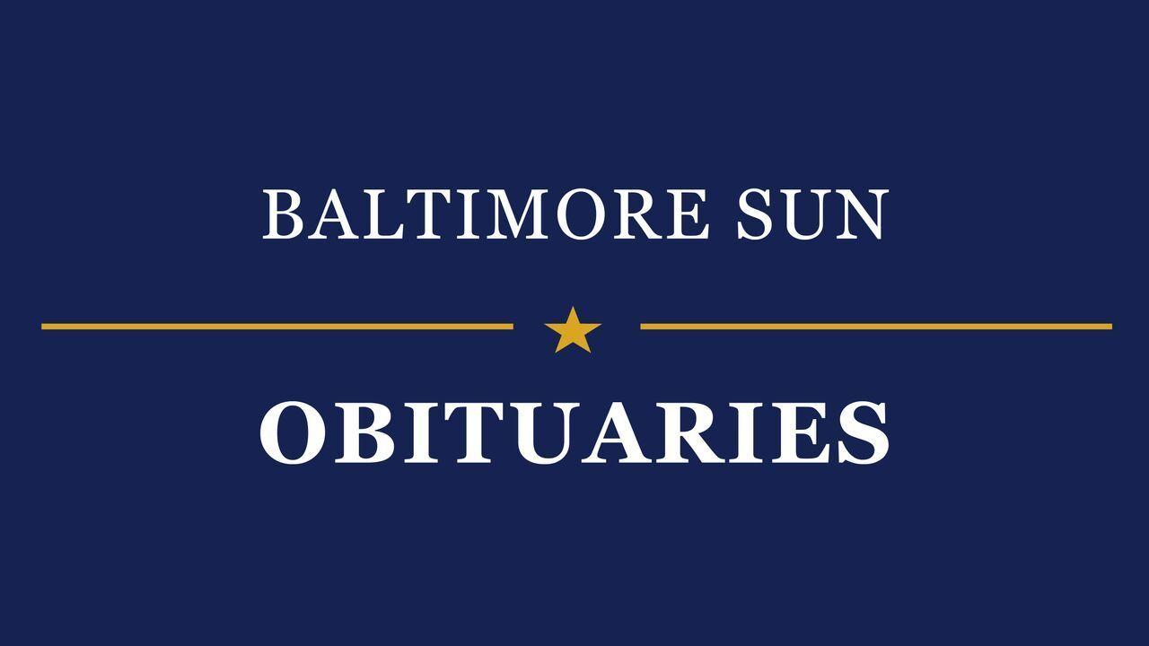 Iris E. Moskowitz, medical administrator, dies - Baltimore Sun