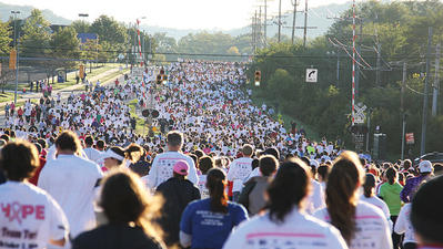 Road closures Sunday in Hunt Valley for Komen Race for the Cure