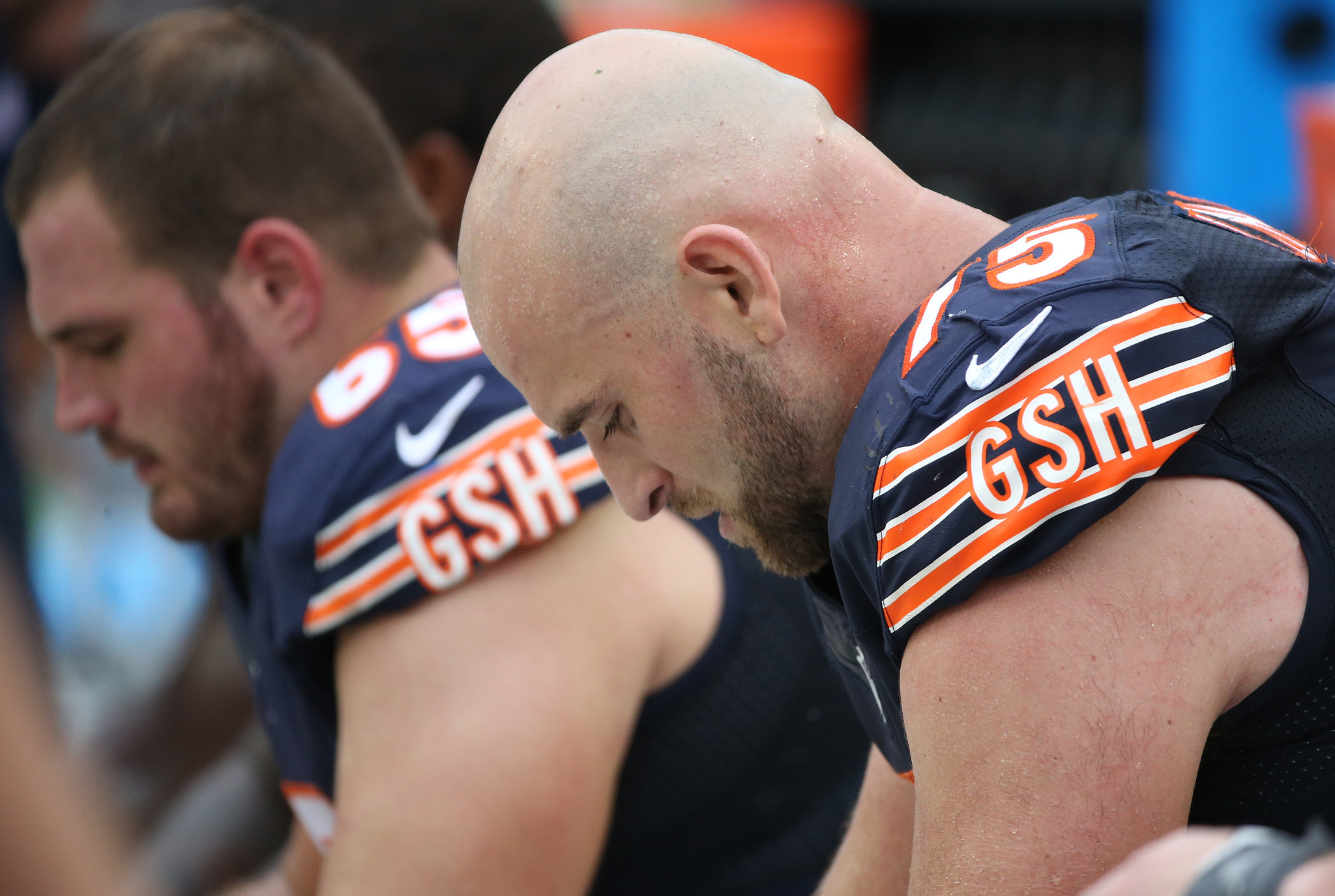 Bears right guard Kyle Long says arm injury is significant