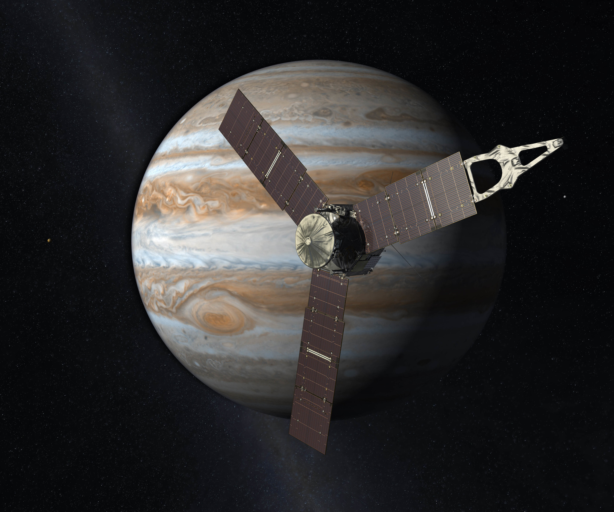 Juno spacecraft slips into safe mode, putting science on hold - Orlando Sentinel