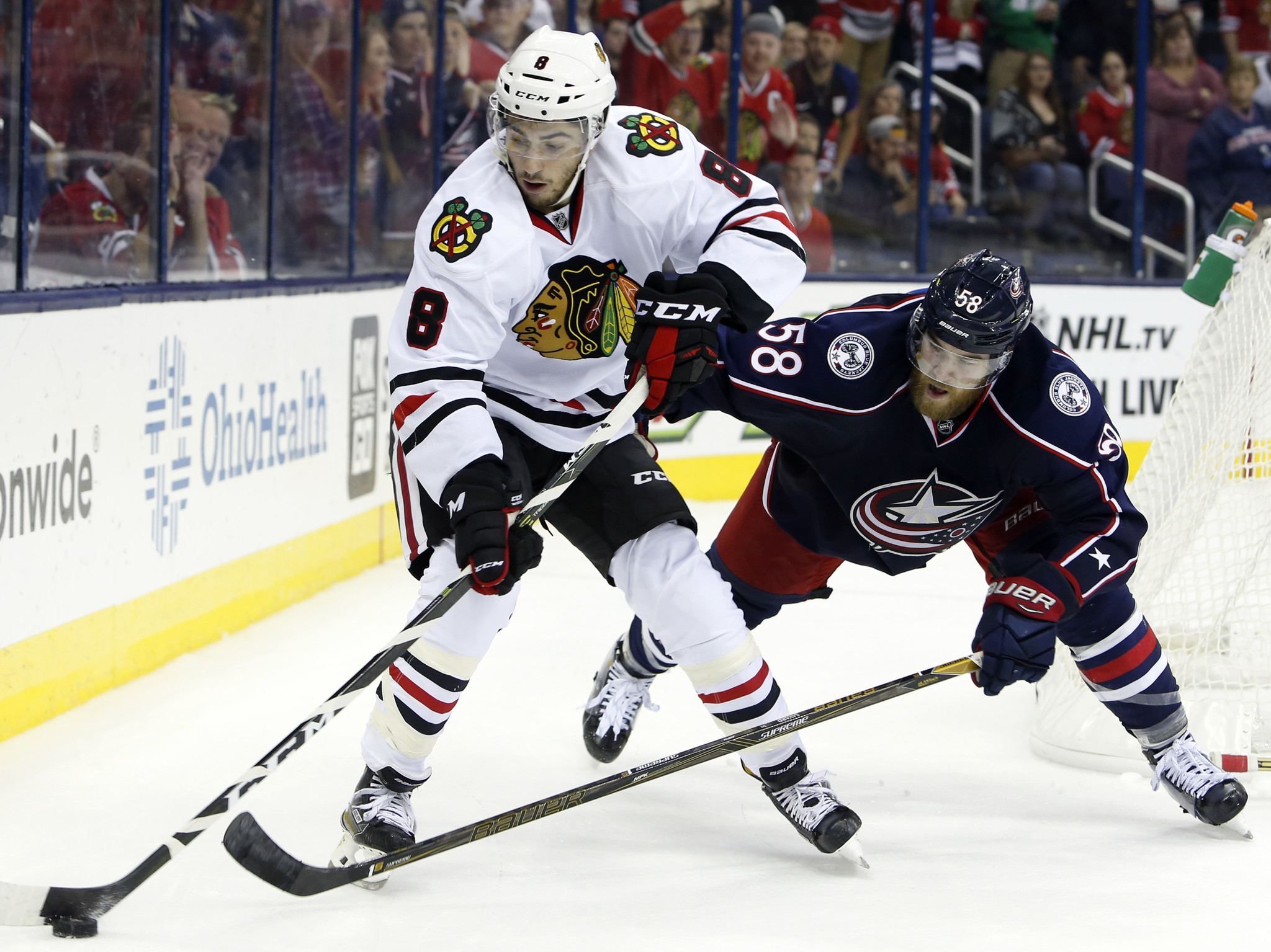 Observations from the Blackhawks' 3-2 loss to the Blue Jackets ...