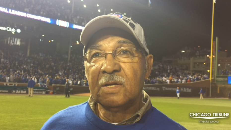 Hall of Famer Billy Williams on Cubs' NL title