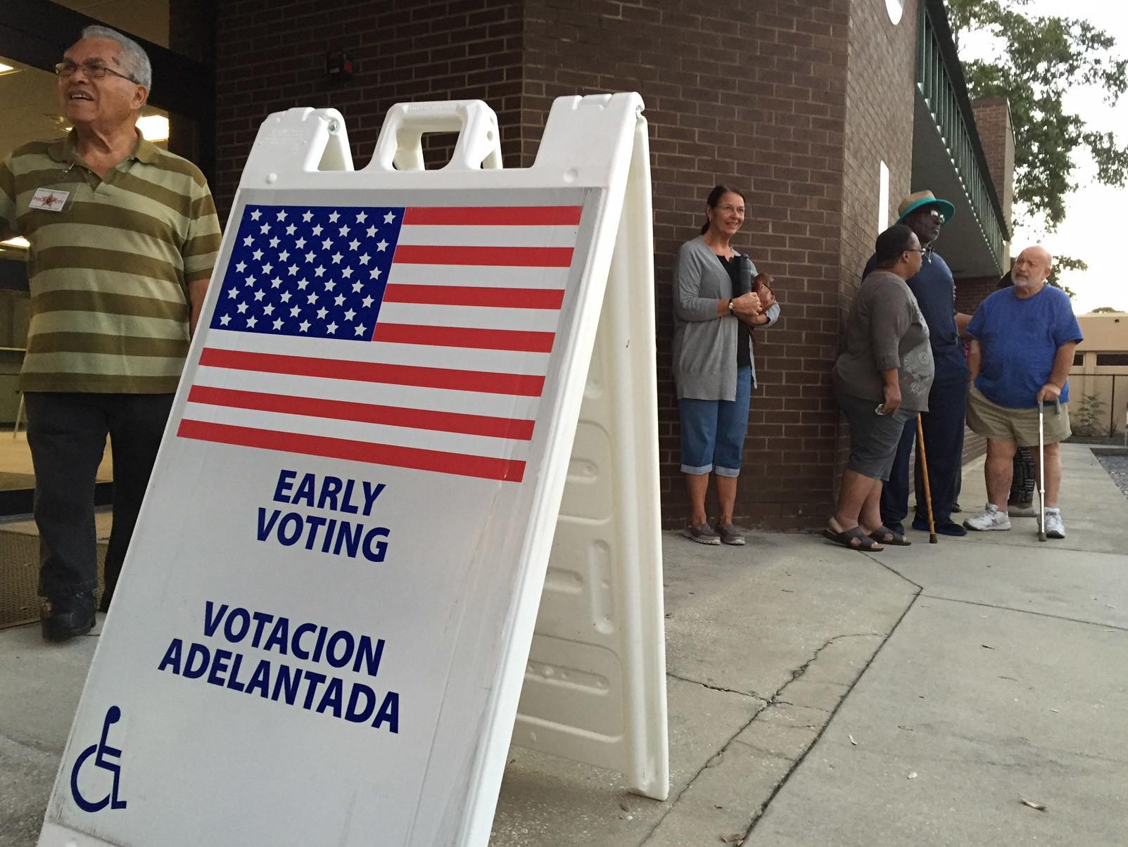 Florida early voting - Orlando Sentinel