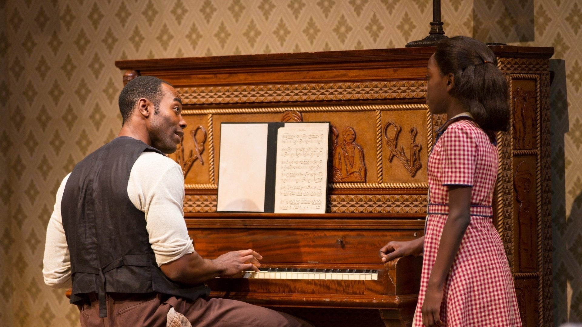a review of august wilsons stage play the piano lesson The play becomes something of a ghost wilson embarked on an ambitious ten-play cycle dramatizing different decades in start studying a review of august wilsons stage play the piano lesson.