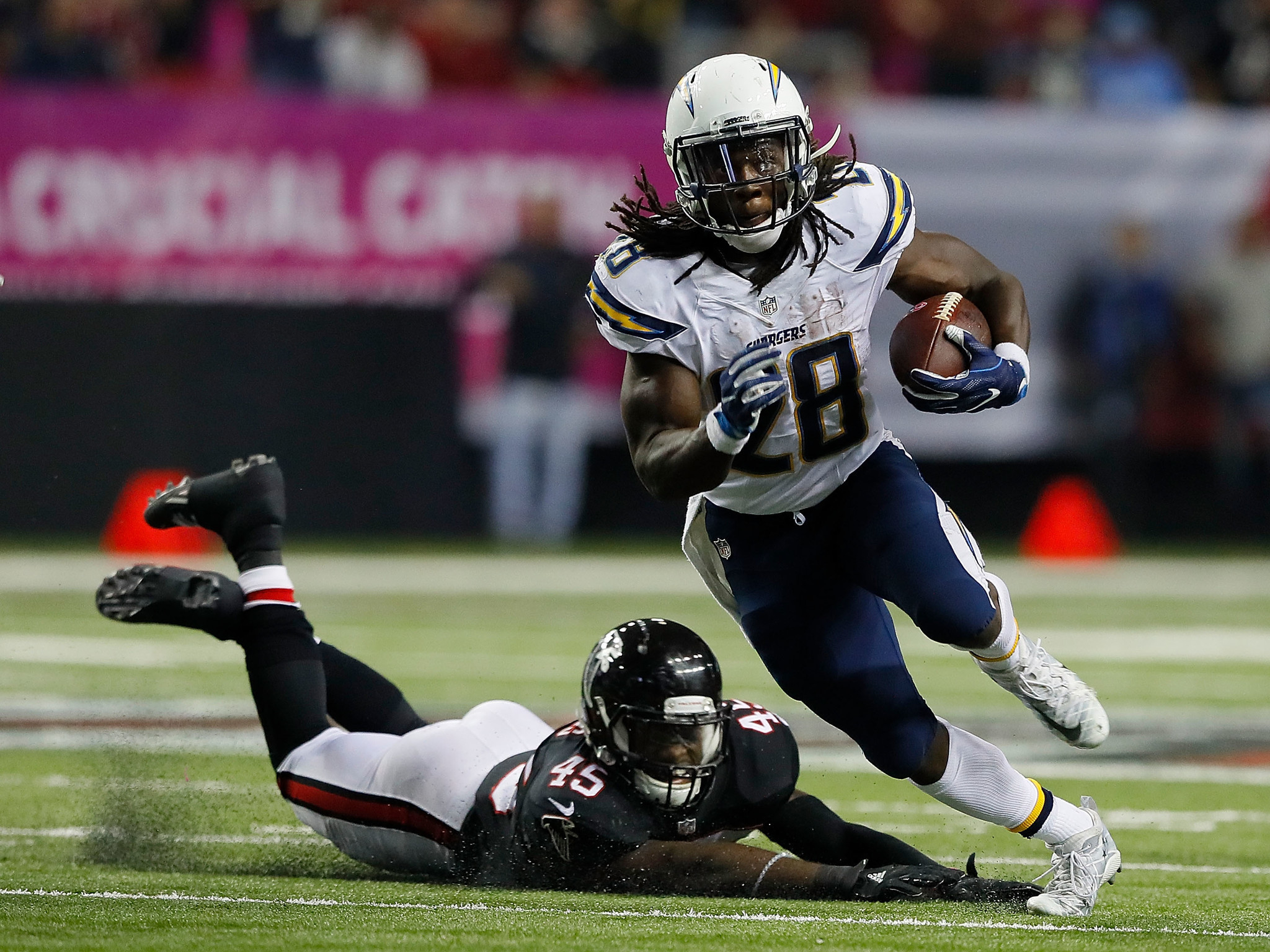 Chargers Coach Lauds Gordon And Farrow The San Diego