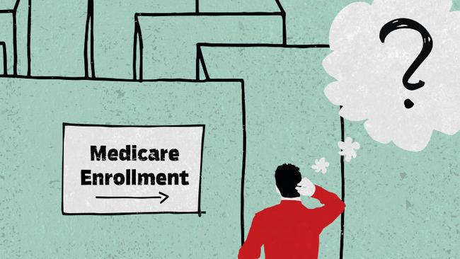 Image result for medicare open enrollment illustration