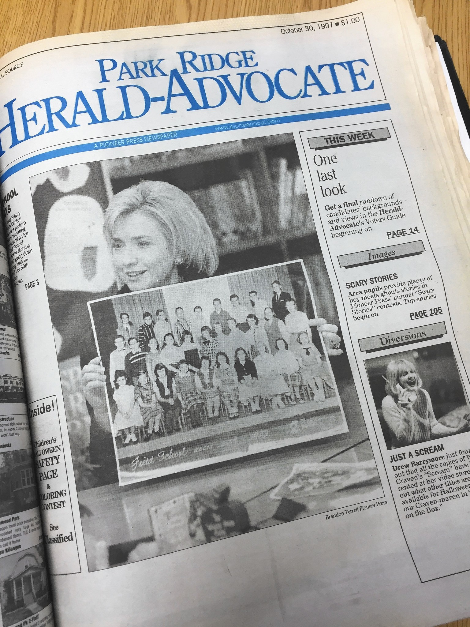 Hillary Clinton Celebrated 50th Birthday In Park Ridge 19