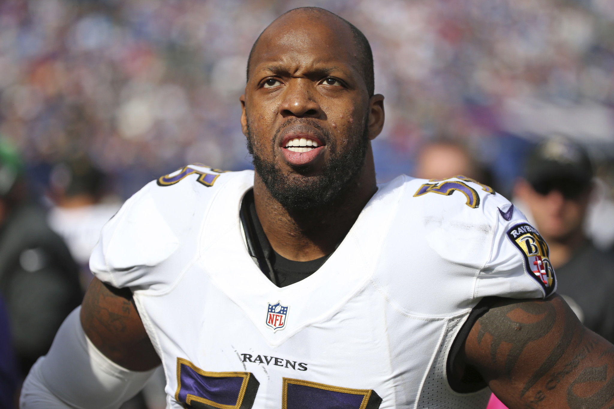 Outside linebacker Terrell Suggs eager to play after Ravens return