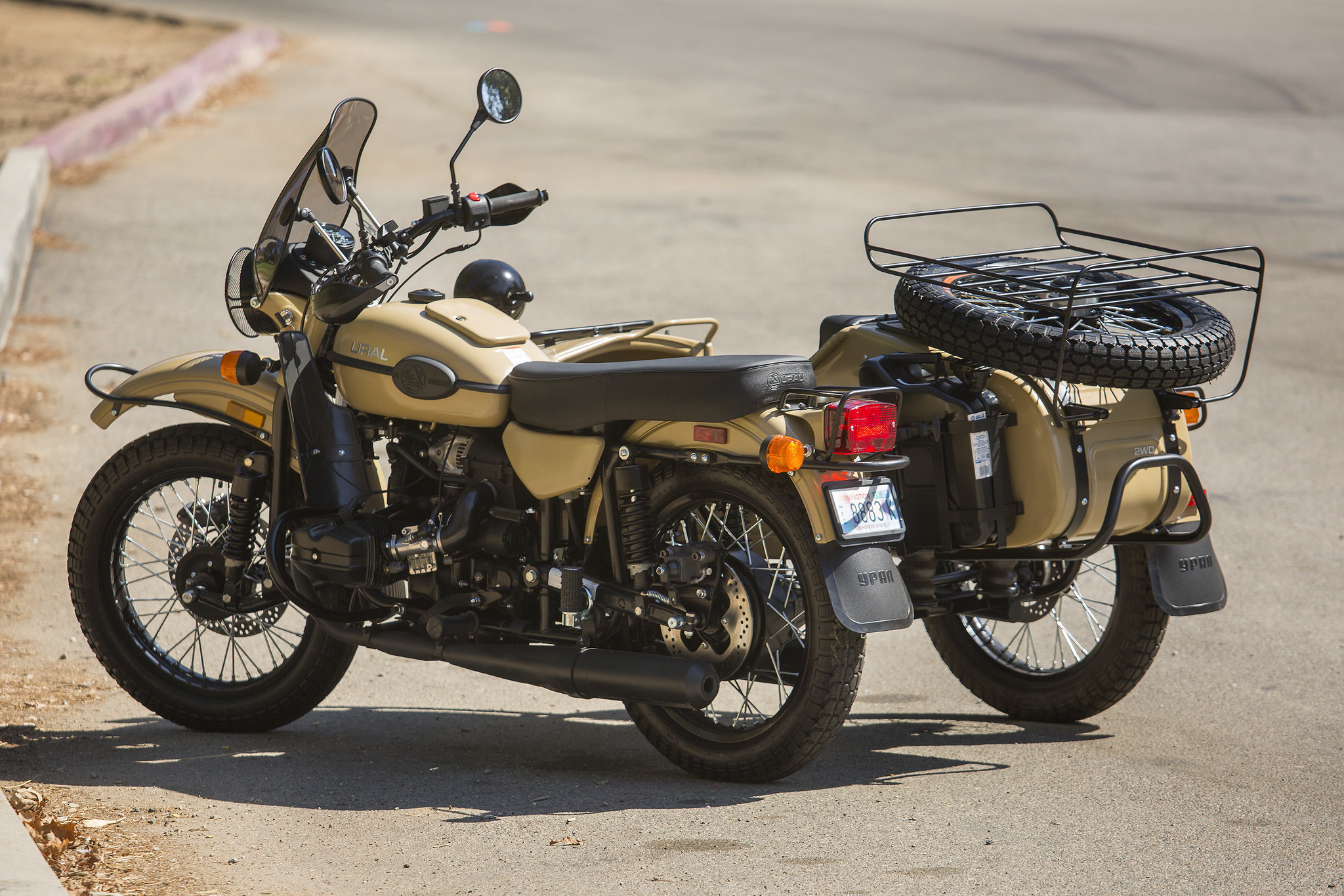 Ural Sahara This Third Wheel Will Get You Noticed La Times