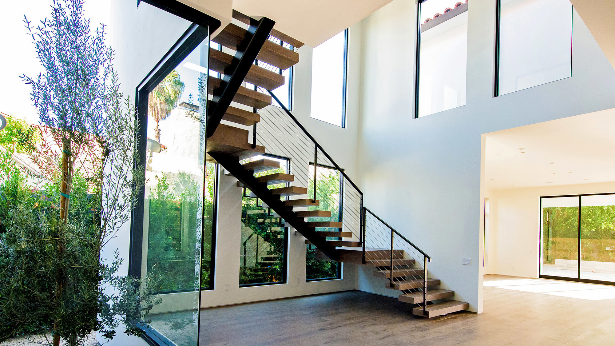Design Floating Stairs floating staircases make their work look light and easy la times