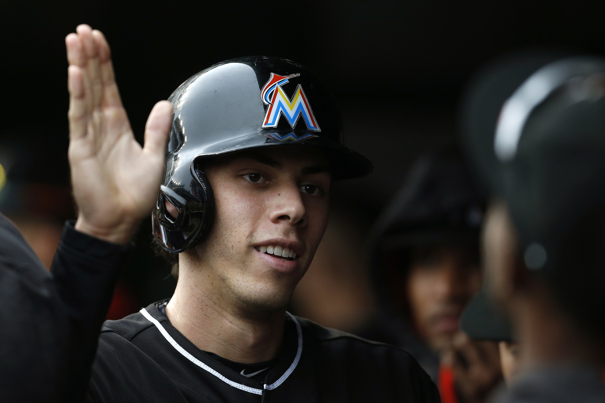 Christian Yelich Named To Sporting News All Star Team By