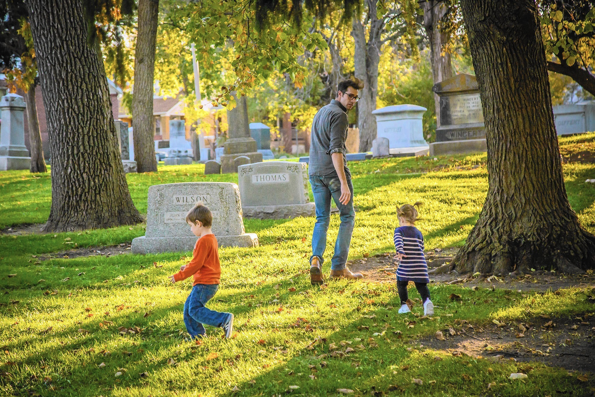Graveyards give you the spooks? Many homeowners like living near cemeteries