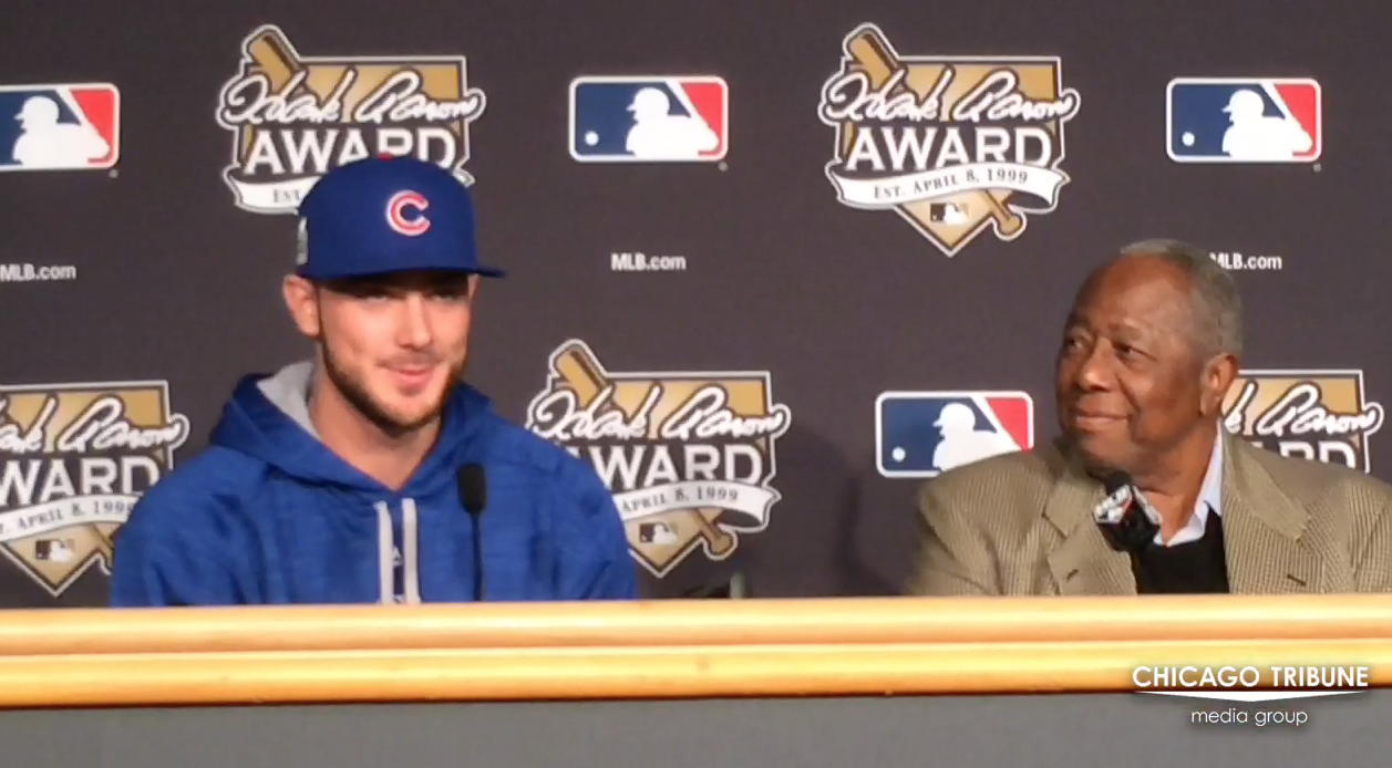 cubs kris bryant and red soxs david ortiz accept the