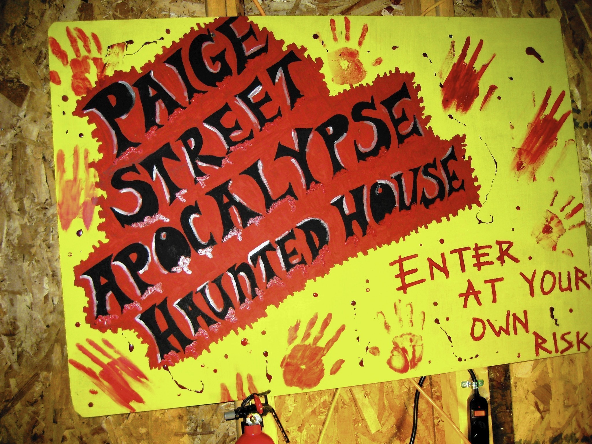 plano man builds haunted house on his property aurora beacon news