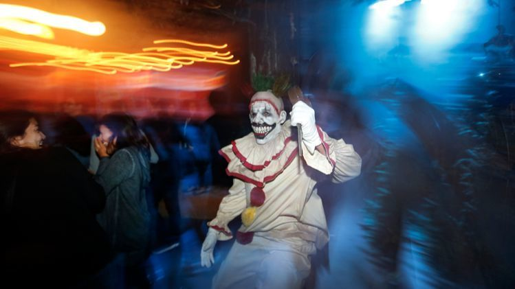"A new ""scare zone"" inspired by the TV series ""American Horror Story"" is one of the offerings at this year's Halloween Horror Nights at Universal Studios Hollywood. (Allen J. Schaben / Los Angeles Times)"
