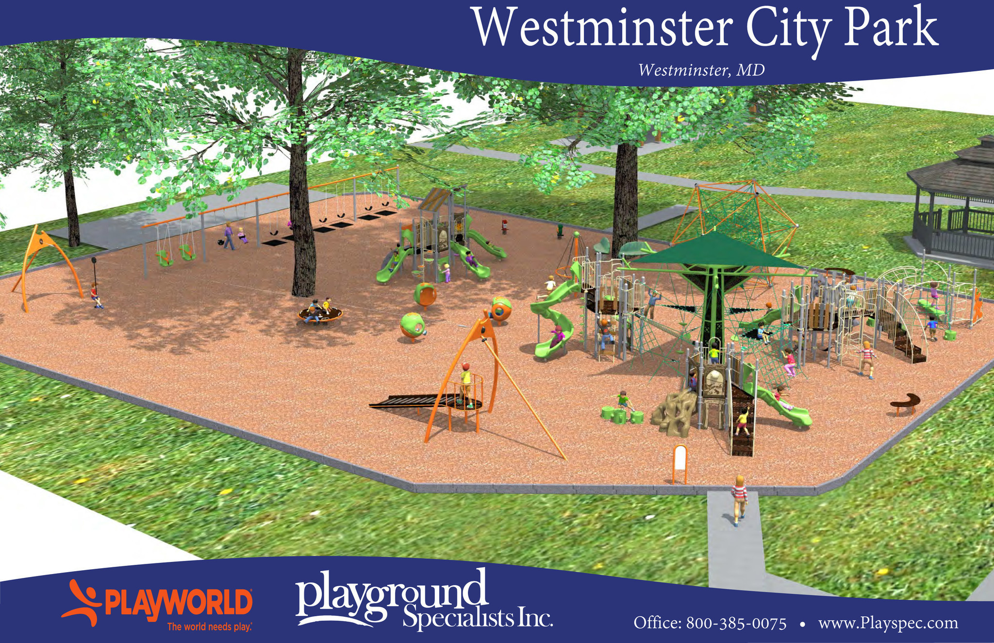 westminster city playground gets reboot carroll county times