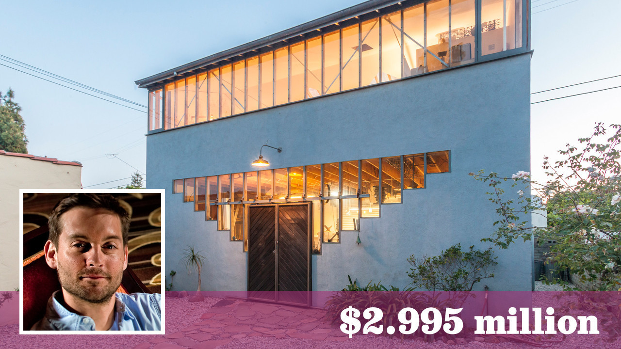 39 spider man 39 actor tobey maguire lists santa monica for House sitting santa monica