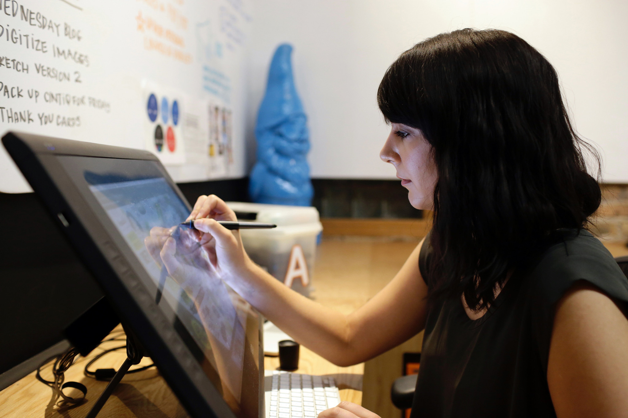 Ink Factory graphic artist shows that yes, doodling can be your career