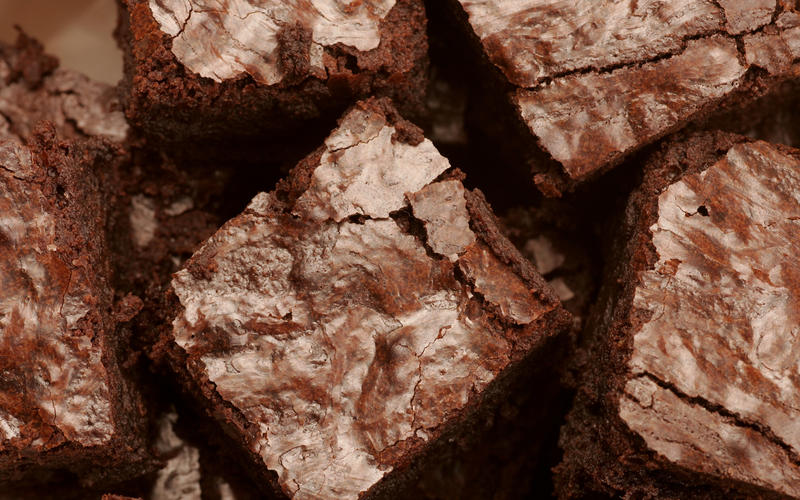 Double Chocolate Fudgy Walnut Brownies