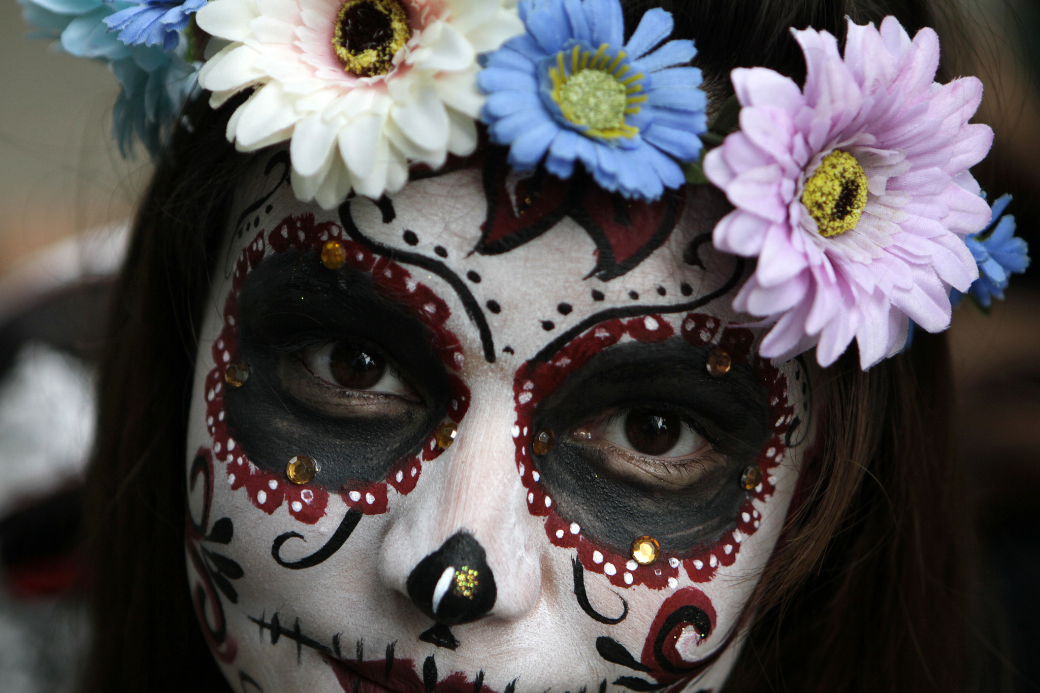 how mexico combines halloween and day of the dead into one surreal celebration