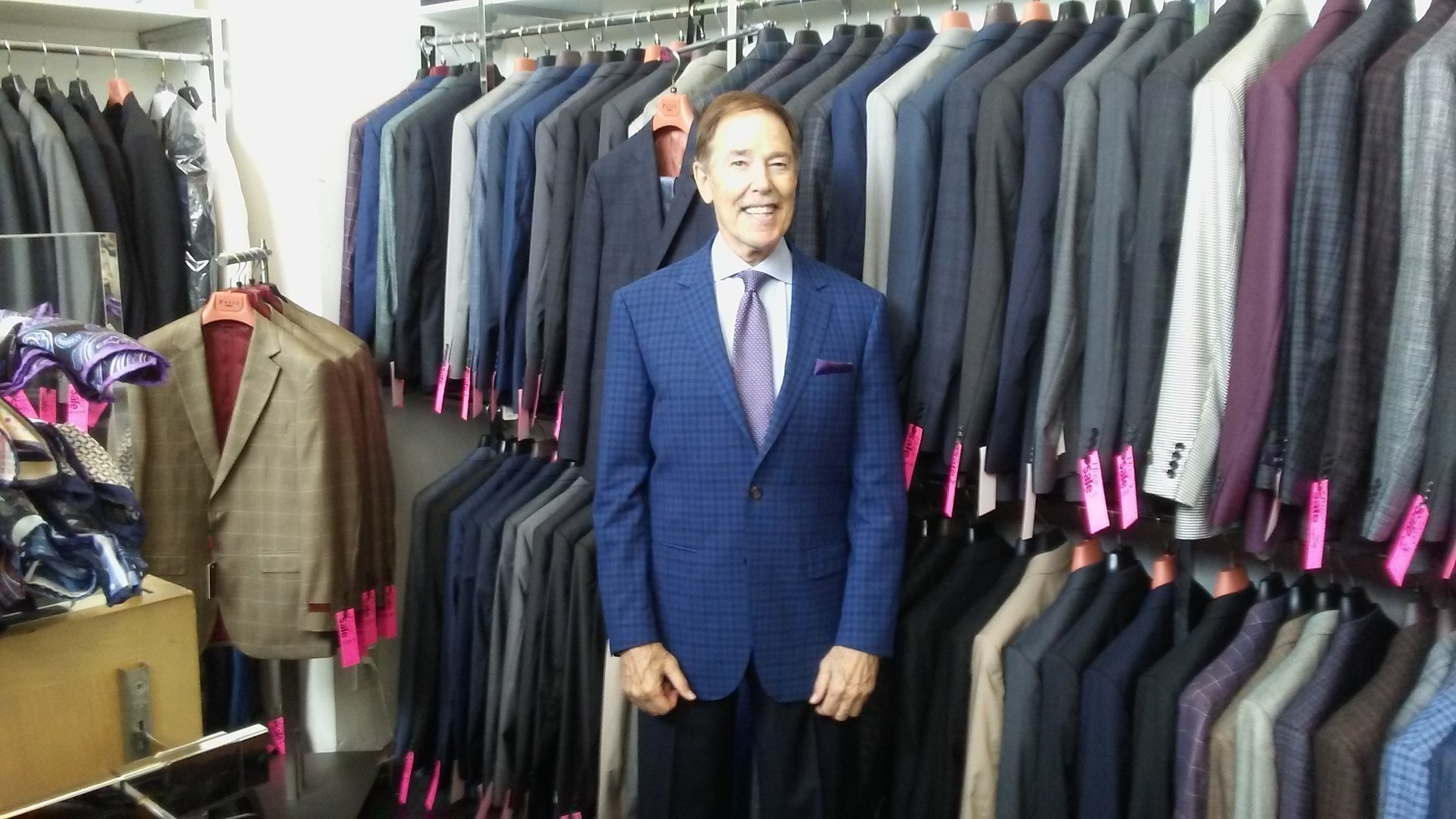 Suiting himself: Clothes have made this man - The San Diego Union ...