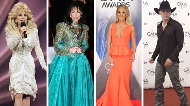 Country Music Stars To Embrace High End Fashion Labels For