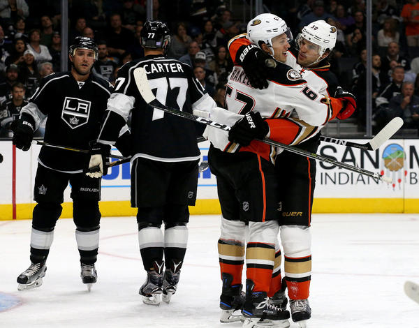 Ducks Take Fight Out Of Kings