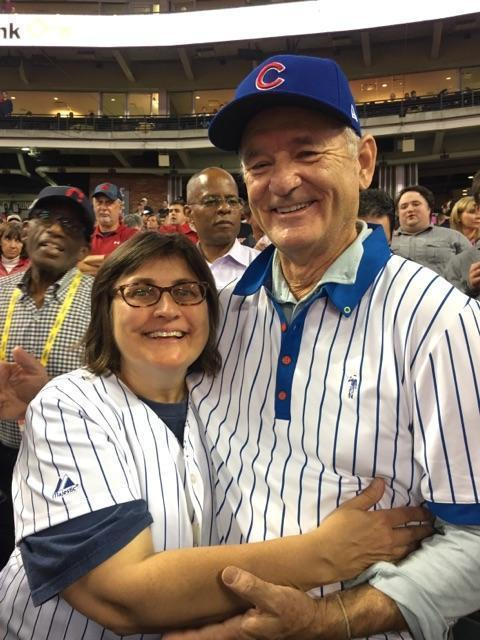 0fdc751e3eb Bill Murray gives World Series seat to Cubs fan from Indiana without a  ticket - Chicago Tribune