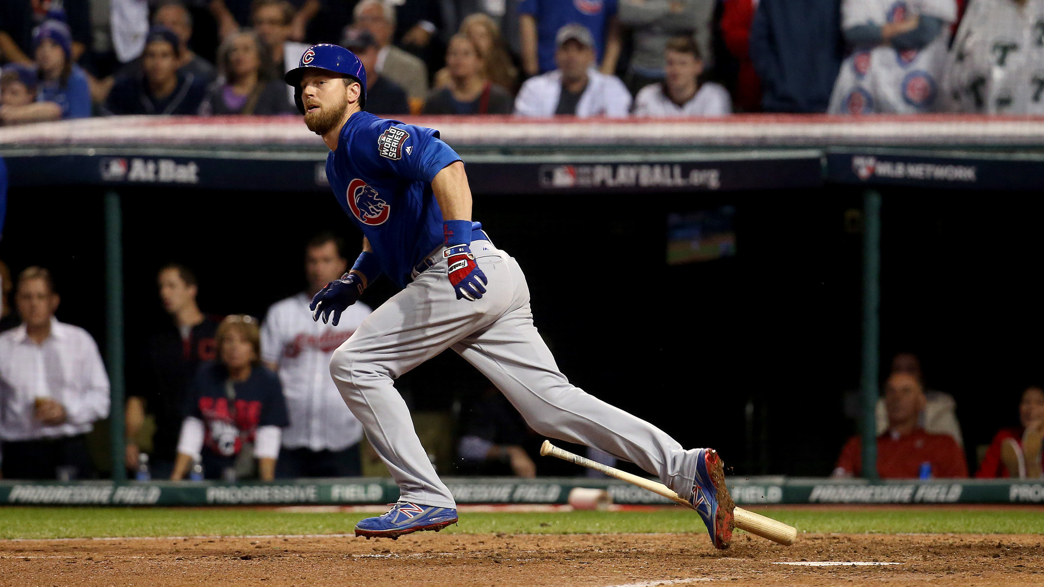 Image result for 2016 world series game 7 zobrist double