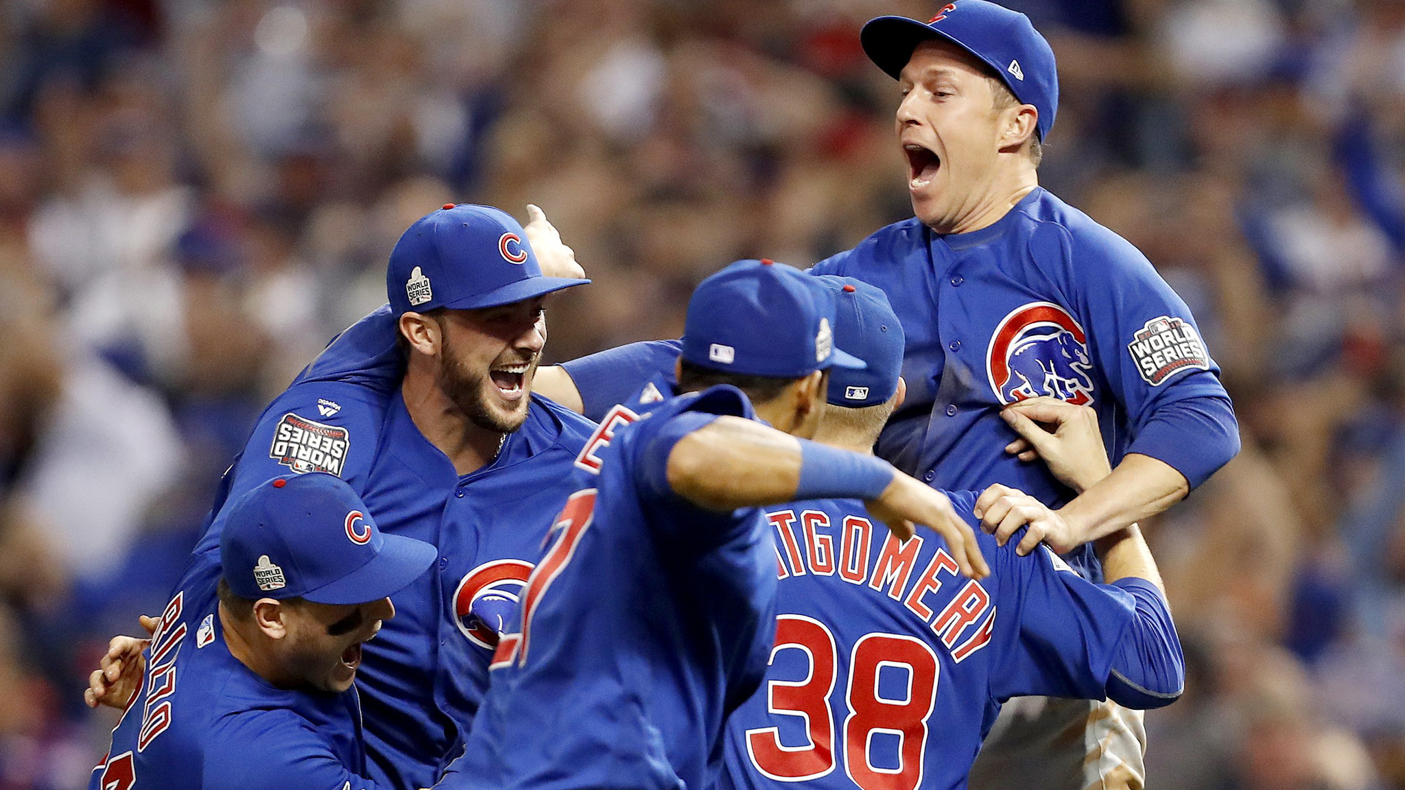 108 is enough cubs beat indians to end baseball s longest world series drought la times