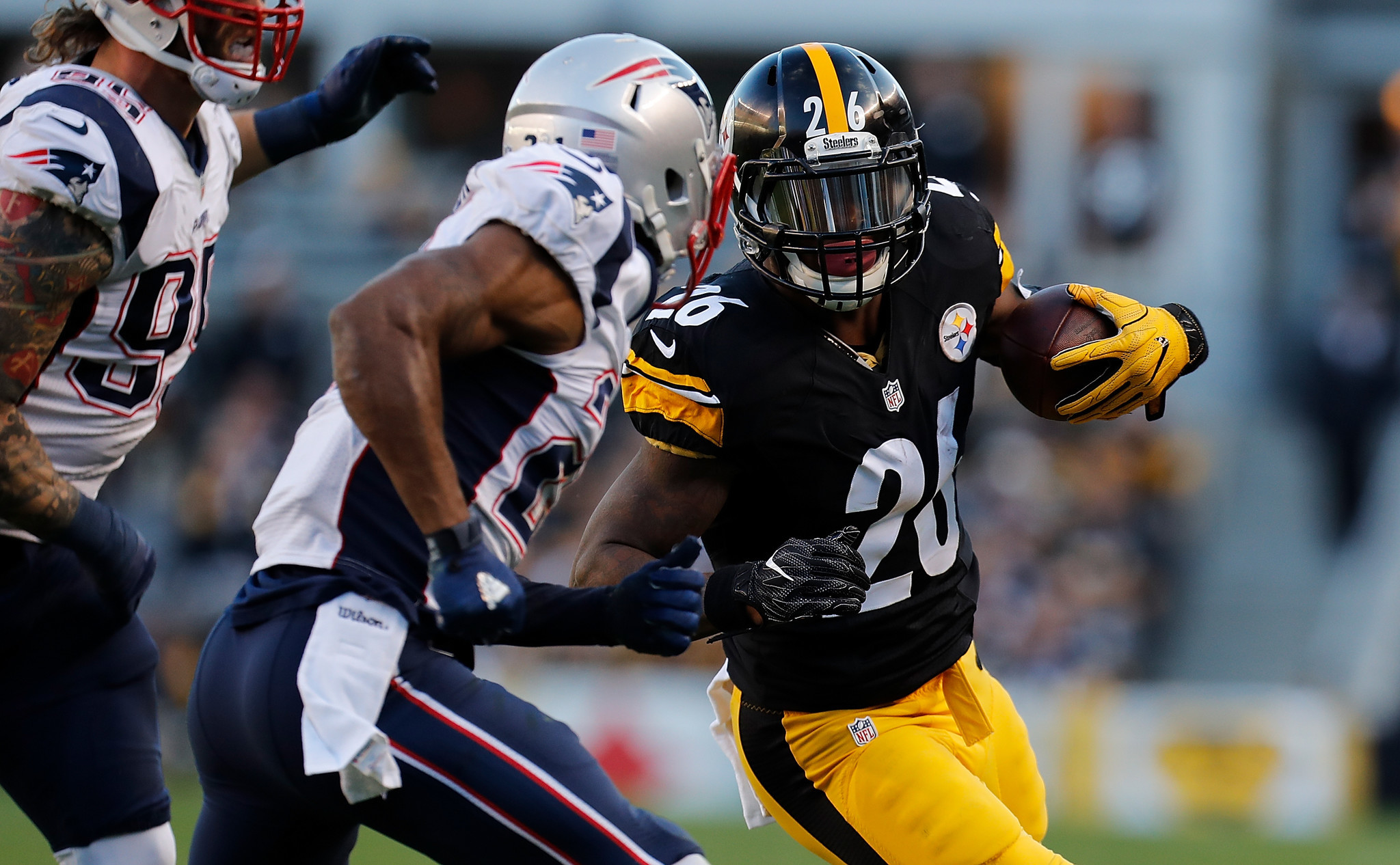 Ravens worried about containing Steelers running back Le Veon Bell