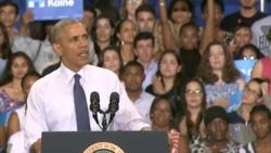 Obama urges millennials to vote