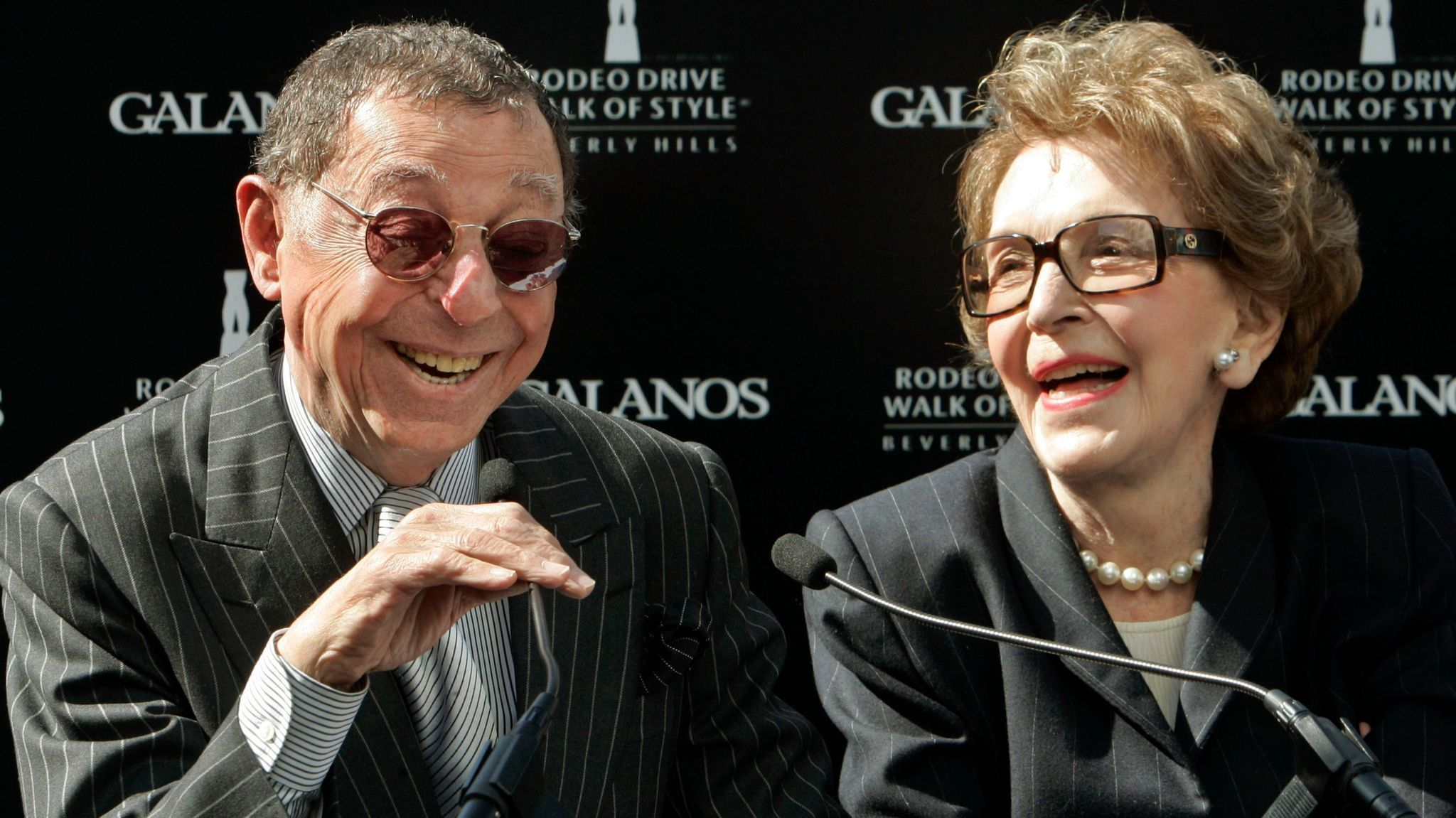 James Galanos, whose gowns were worn by Nancy Reagan, Judy Garland and Heidi Klum, was 'America's couturier'