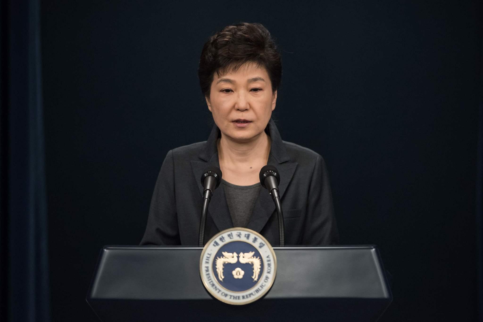 ... Embattled South Korean president issues astonishing apology amid scandal