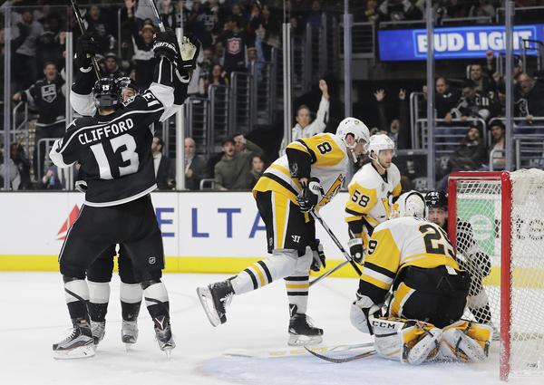 Kings Finally Break The Ice, Beating Penguins In Overtime