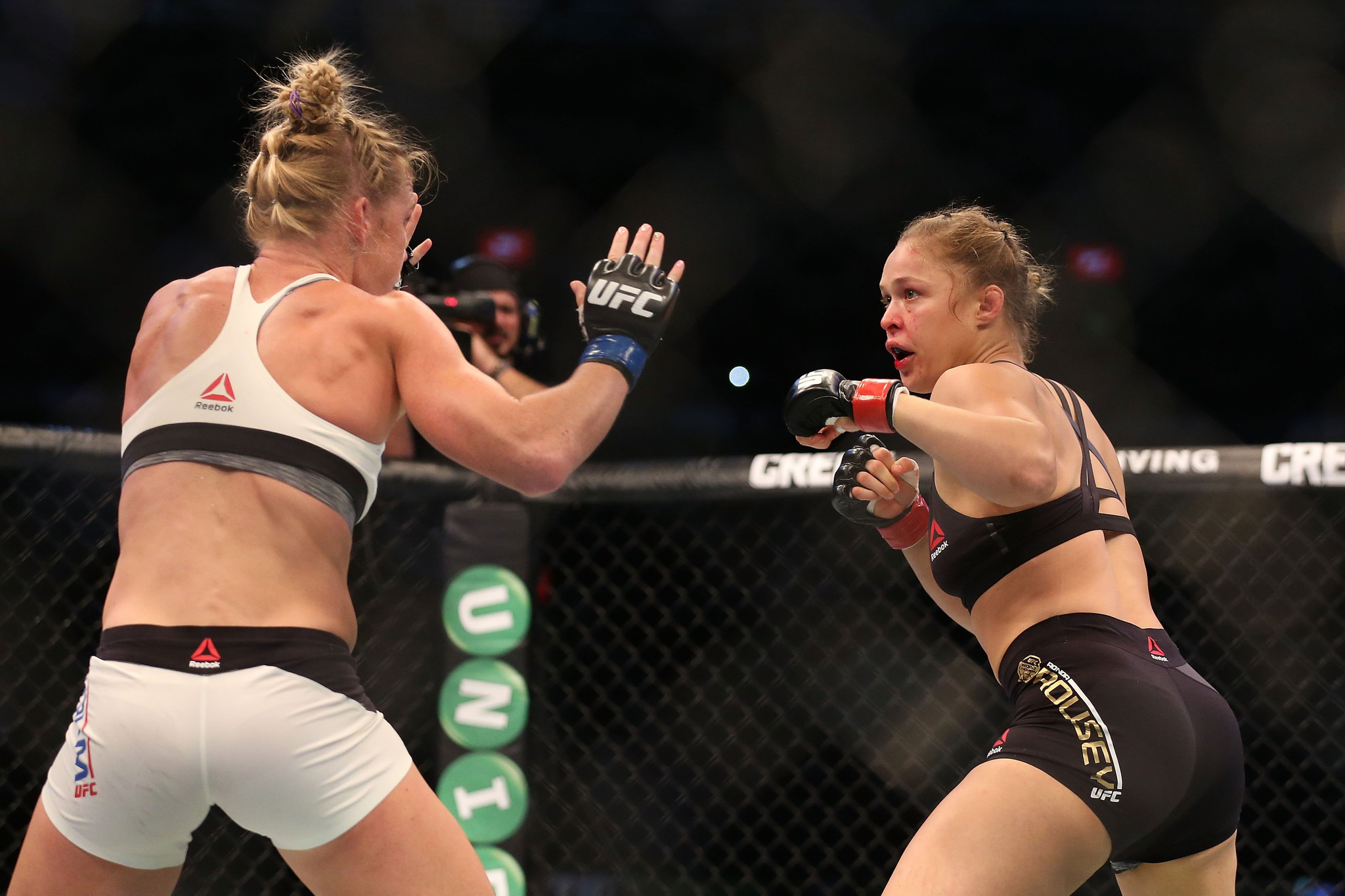 Wwe executive dreams of bringing ronda rousey into the wwe ring la times