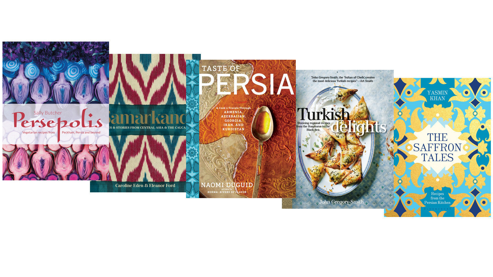 new cookbooks offer recipes for persian, turkish and uzbek cuisine