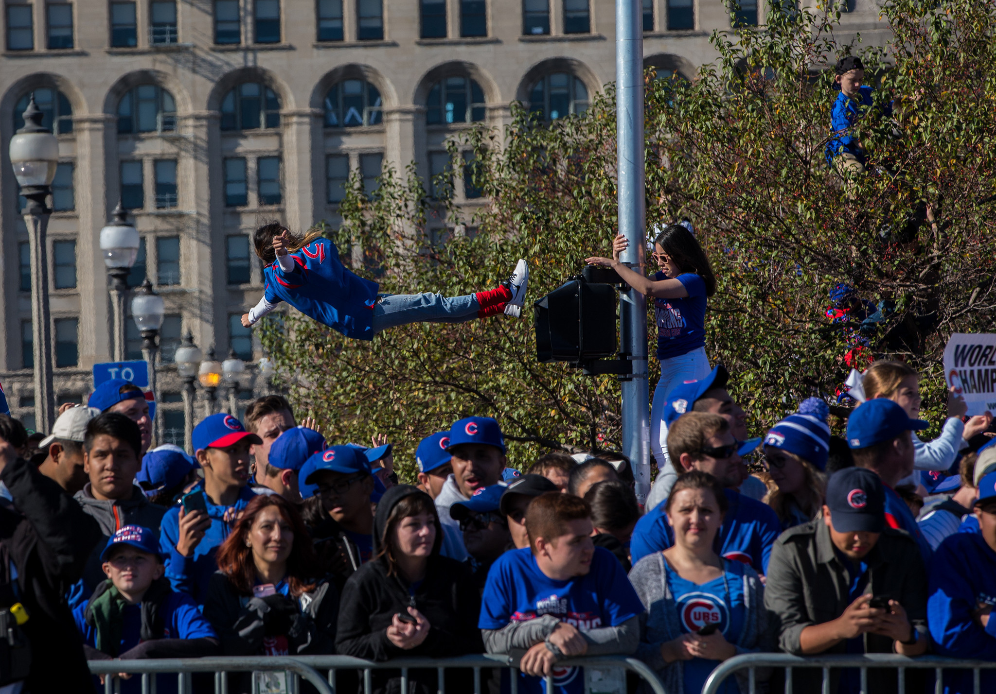 Millions at Wrigley downtown for Cubs World Series parade rally