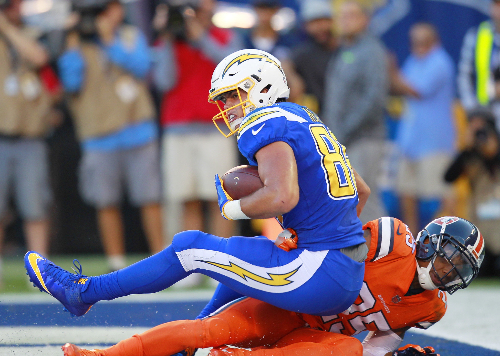 Chargers Down Te Henry Others Vs Titans The San Diego