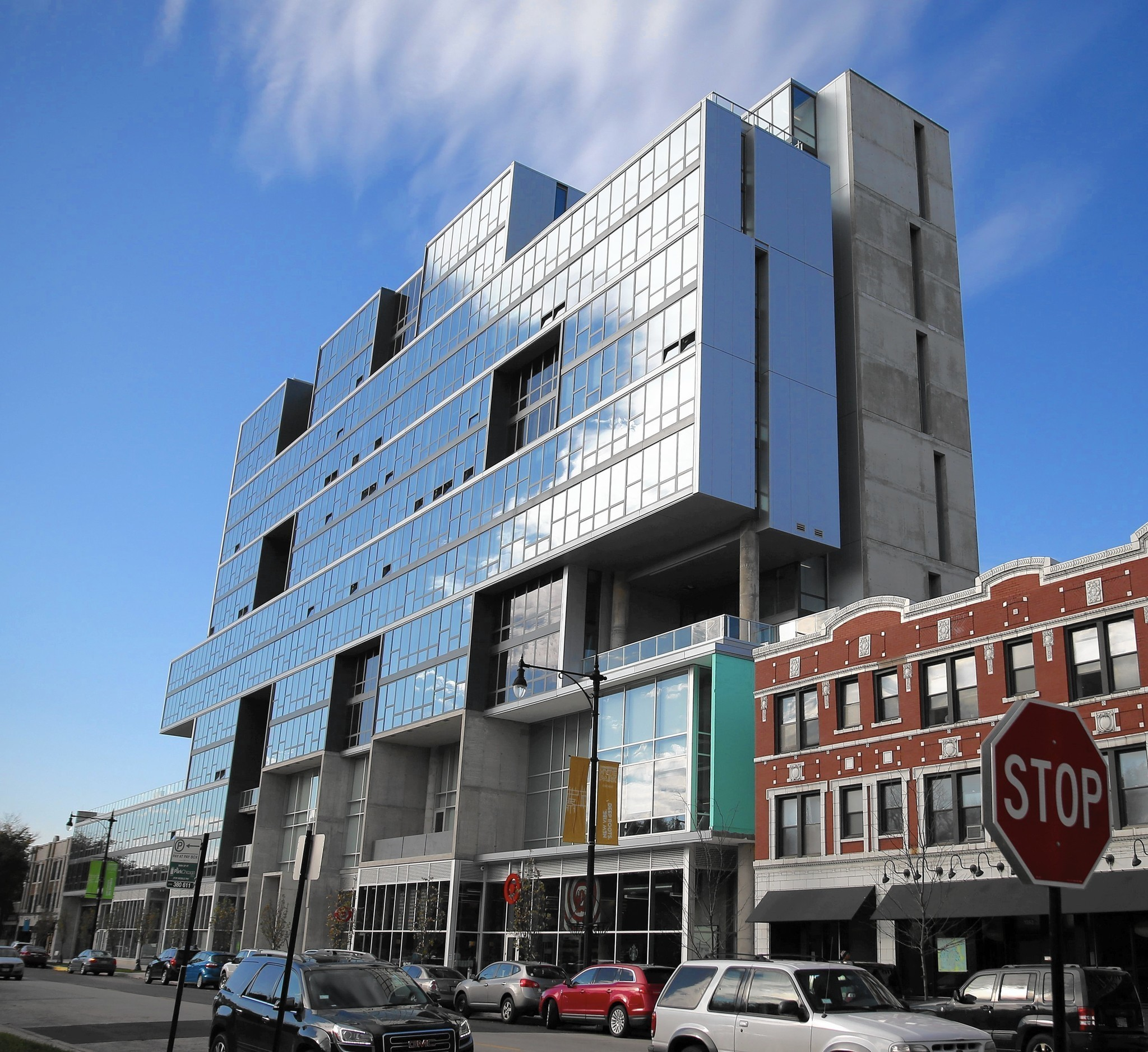 Wonderful Jenga Architecture Trend Works In New Hyde Park Apartments   Chicago Tribune