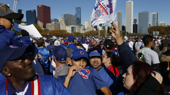 Chicago Cubs rally