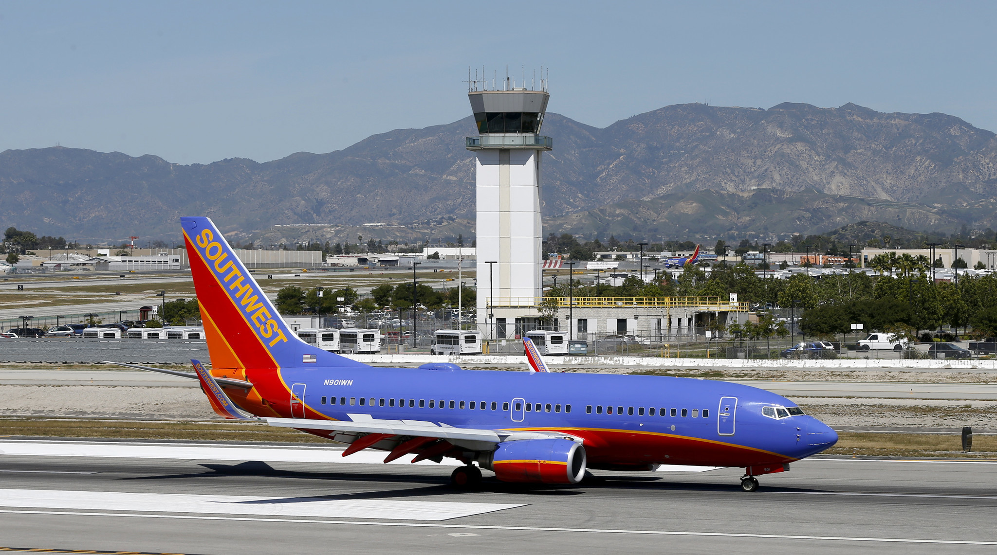 Burbank airport could be damaged in a quake will voters for Lax long term parking lot