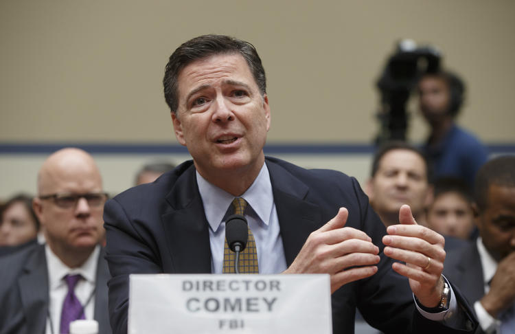 FBI Director James Comey faced withering criticism this year.