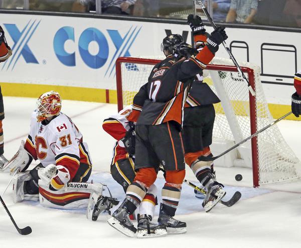 The Ducks Set An NHL Mark, At Flames' Expense