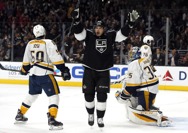 Kings' Dustin Brown Is Showing Old Form