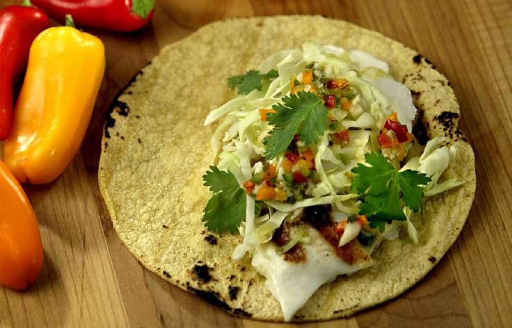 Fix this quick halibut recipe for taco tuesday la times for Halibut fish tacos