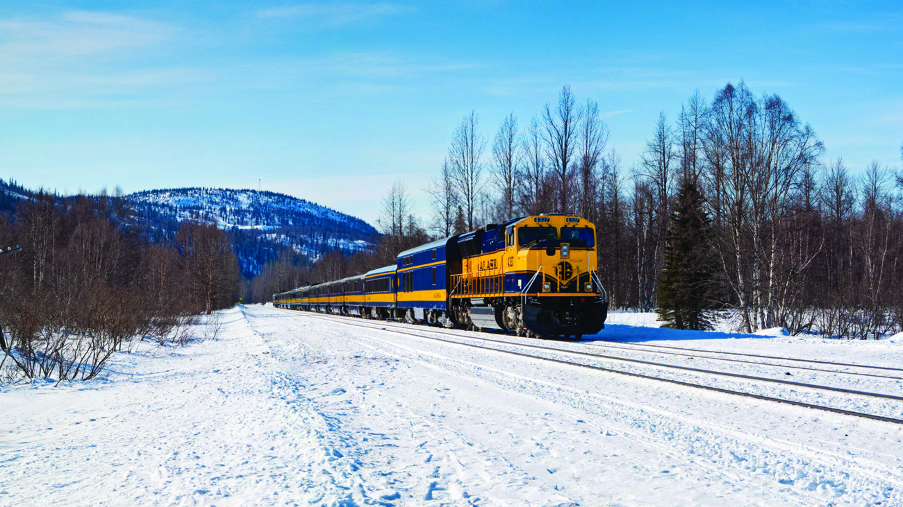 Take a new year 39 s eve train to see northern lights in for Winter trip in usa