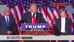 Full Donald Trump victory speech