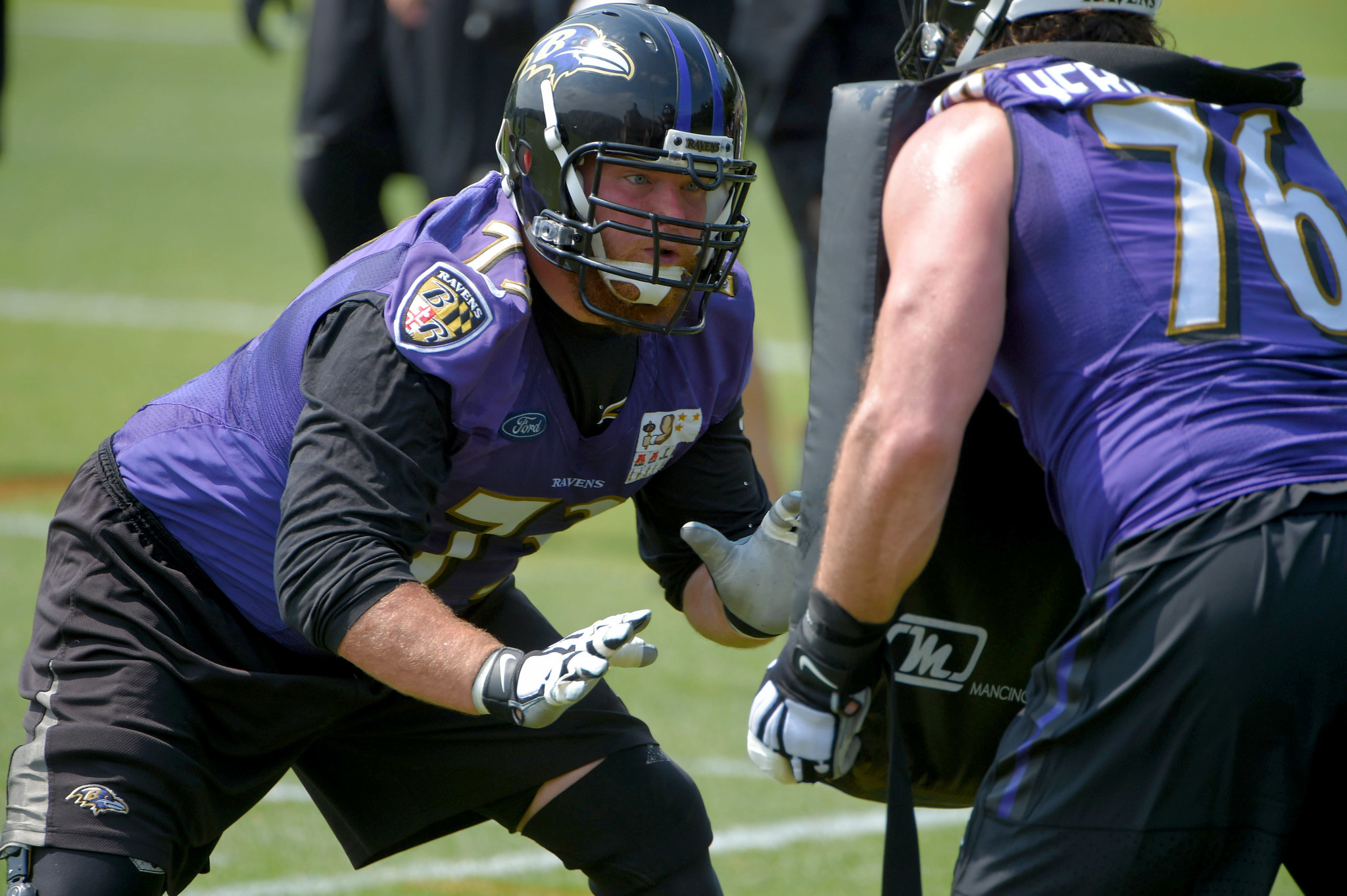 Ravens right guard Marshal Yanda not expected to play Thursday
